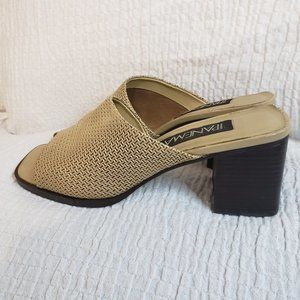Ipanema block heel slip on sandal Size 7M